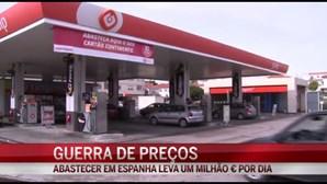 Abastecer em Espanha leva 1 milhão € por dia