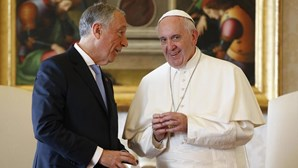 Marcelo saúda papa Francisco pelos quatro anos de pontificado