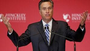 Mitt Romney apela a voto útil em Ted Cruz