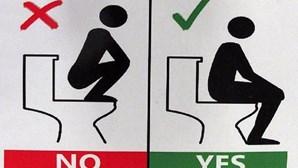 Universidade ensina alunos a usar WC