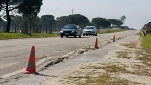 Utentes do IC1 voltam à marcha lenta pela melhoria da estrada