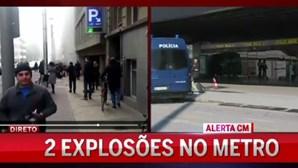 Efeitos do terror em Bruxelas nos voos em Lisboa