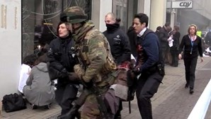 As imagens dos atentados em Bruxelas