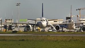 Voos entre Lisboa e Bruxelas foram cancelados