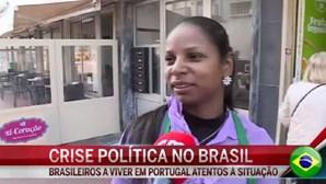 Brasileiros a viver em Portugal atentos à crise política no Brasil