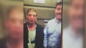 Sequestrador tira 'selfie' com passageiro