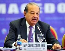 Carlos Slim Helu tem uma fortuna de 46,01 mil milhões de euros, construida através da Telecom