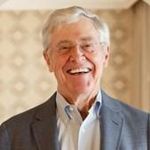 Charles Koch, empresário americano, tem uma fortuna de 36,44 mil milhões de euros