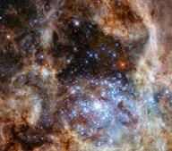Identificado grupo de estrelas 30 milhões de vezes mais brilhantes do que o Sol
