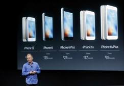 Comparação entre iPhones