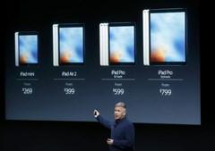 Comparação entre iPad