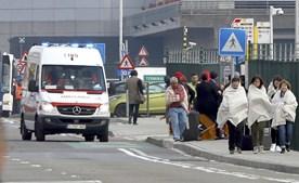 Pormenor da evacuação do aeroporto