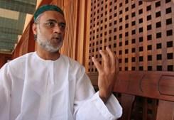 O sheik David Munir, líder da Mesquita Islâmica Central de Lisboa