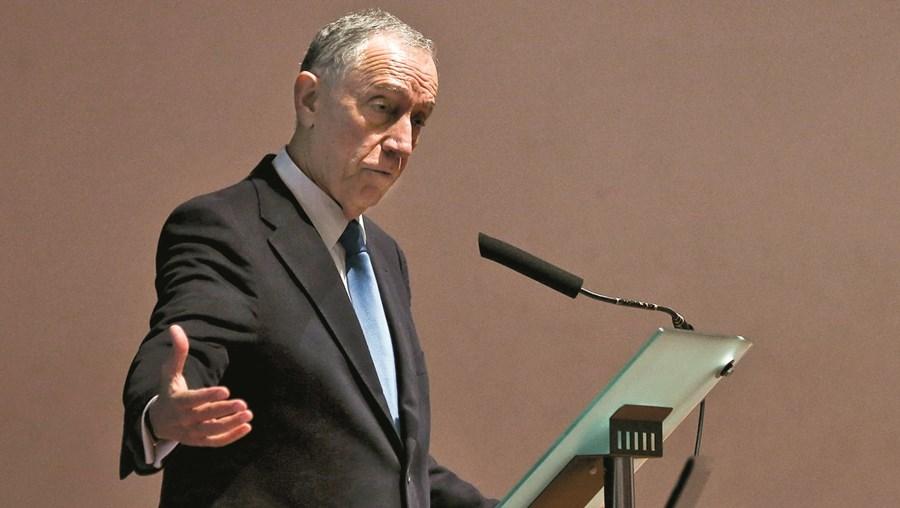 Marcelo Rebelo de Sousa assinalou, na segunda-feira, o 28º aniversário da TSF na Escola Superior de Comunicação Social