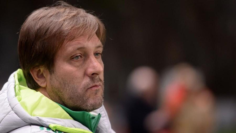 O treinador do Rio Ave Pedro Martins