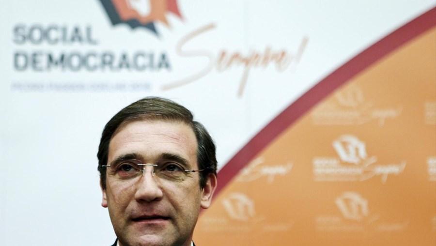O presidente do Partido Social Democrata, Pedro Passos Coelho