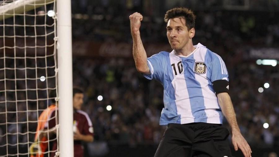 O argentino Leonel Messi