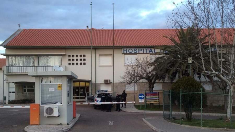 O corpo da idosa foi encaminhado para a morgue do Hospital de Santa Luzia, em Elvas