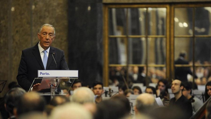 Marcelo Rebelo de Sousa, Presidente da Republica, na Camara Municipal do Porto