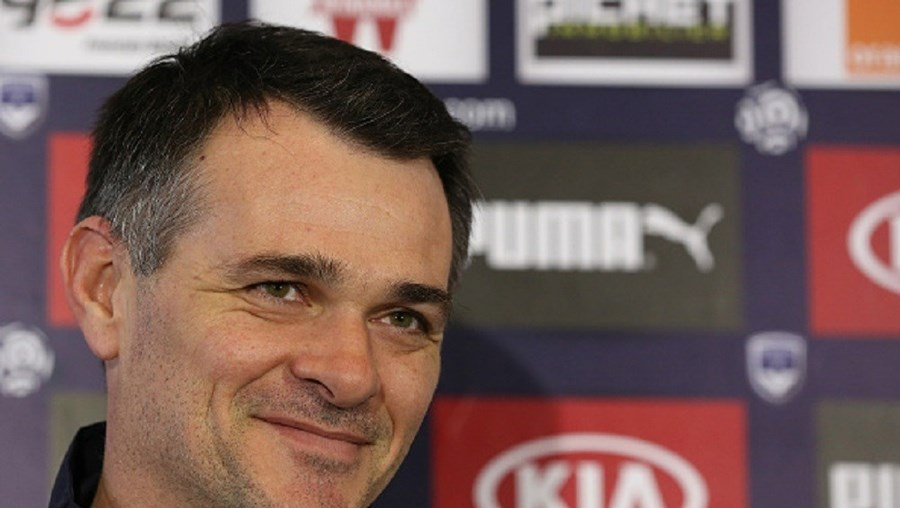 O treinador Willy Sagnol