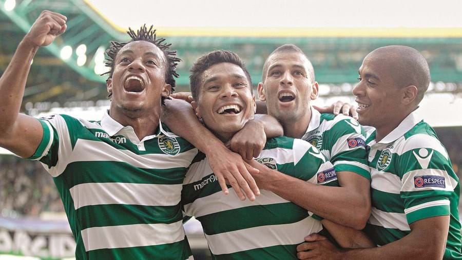 Carrillo (à esquerda) era trunfo importante do Sporting no início da época. Em outubro do ano passado, foi suspenso