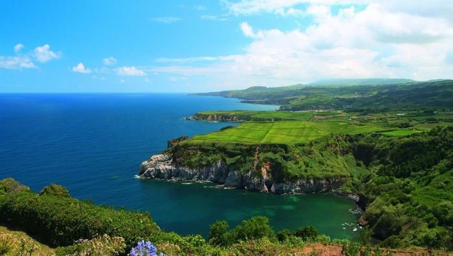 Vista do miradouro de Santa Iria, Açores