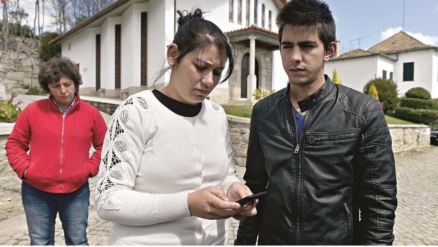 Mónica e Filipe Gomes, pais do bebé, estão revoltados