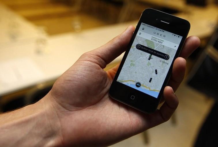 Plataforma de mobilidade Uber
