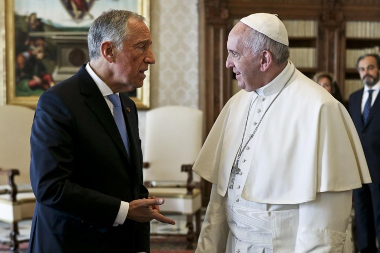 Marcelo Rebelo de Sousa, Presidente da República, visitou Francisco no Vaticano