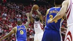 Houston Rocketes vencem Golden State Warriors