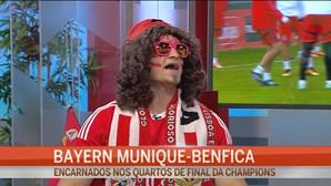 Conheça o Orlando, o adepto mais caricato do Benfica