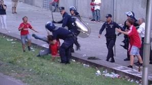 Polícia agressor de Guimarães louvado pela PSP