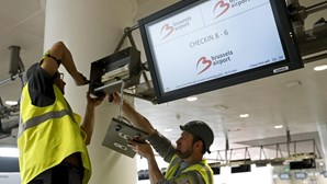 Reabre terminal de saídas do aeroporto de Bruxelas