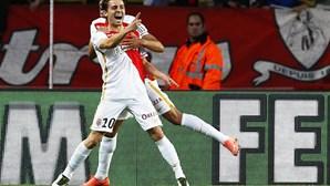 Bernardo Silva marca na vitória do Mónaco