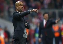 Pep Guardiola, o treinador do conjunto bávaro