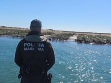 Operação da Polícia Marítima na Ria Formosa