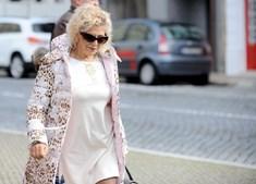 A euromilionária de Ariz, Maria Amélia, despistou o seu Maserati de 200 mil euros noutro aparatoso acidente, esta segunda-feira