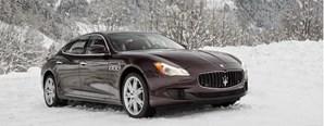 Euromilionária despistou-se num Maserati parecido com este