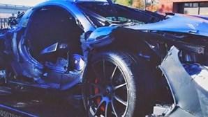 Em 2014, um norte-americano desfez um McLaren P1, que vale um milhão de euros, nem 24 horas depois de o ter adquirido