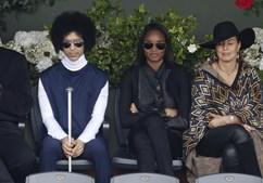 Prince em Roland Garros