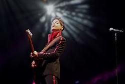 Prince na Yas Arena, em Abu Dhabi