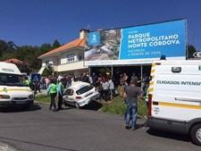 Acidente ocorreu às 14h50 em Monte Córdova
