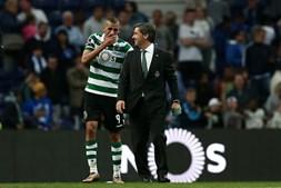 Com dois golos, Slimani foi o destaque do clássico entre FC Porto e Sporting