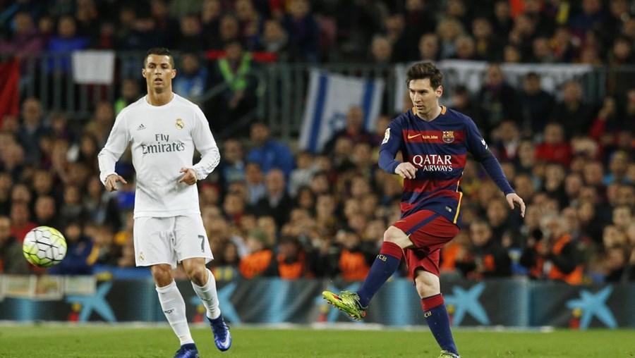 No último duelo entre Barcelona e Real Madrid, a equipa de Cristiano Ronaldo levou a melhor