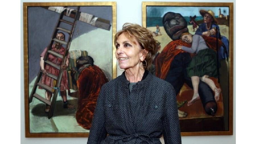 A artista portuguesa, Paula Rego