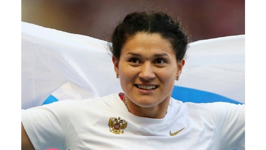 A russa Tatyana Lysenko, campeã olímpica do lançamento de martelo, foi provisoriamente suspensa devido a doping