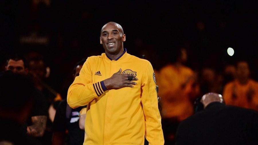 Kobe Bryant despediu-se dos pavilhões aos 37 anos