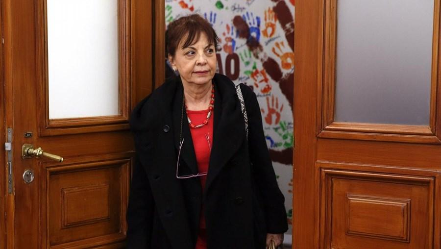 A ministra da Presidência e Modernização Administrativa, Maria Manuel Leitão Marques