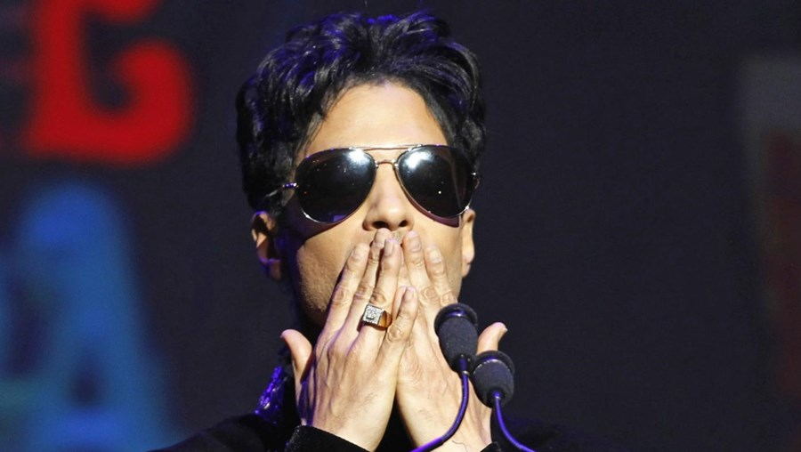 O cantor norte-americano Prince