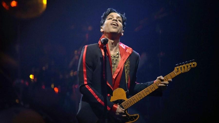 Prince num concerto em 2010, na Bélgica